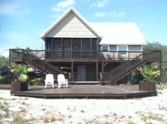 House vacation rental in Alligator Point from VRBO.com! #vacation #rental #travel #vrbo this is where im staying :)