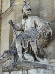 Mars statue at Les Invalides | by eutouring