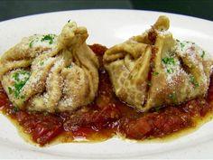Pizza Pockets/Purse Recipe : Robert Irvine : Food Network - FoodNetwork.com
