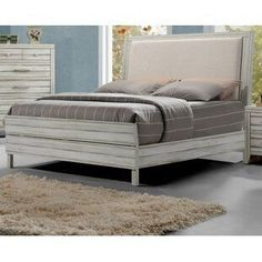 Discover the best coastal bedroom furniture sets, which includes matching coastal beds, beach dressers, coastal headboards, beach nightstands, and more. Solid Wood Platform Bed, Platform Bed Frame, Upholstered Platform Bed, Upholstered Beds, Bedroom Furniture Sets, Bed Furniture, Bedroom Sets, Coastal Furniture, Bedroom Decor