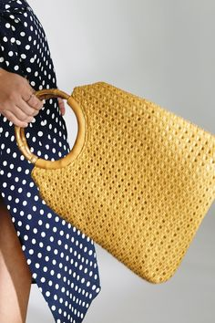 Buy Oasis Yellow Mia Woven Tote from the Next UK online shop Net Bag, Crochet Handbags, Purse Patterns, Bead Crochet, Cloth Bags, Womens Scarves, Straw Bag, Purses, Women's Bags