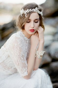 Handcrafted Heirloom Wedding Accessories by Bride La Boheme