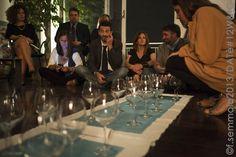 suDesign espone i suoi arredi in una serata di Wine/datè, Napoli 2013