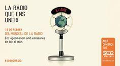 SER Catalunya celebra el Dia Mundial de la ràdio connectant amb més de 30 ràdios de tot el món