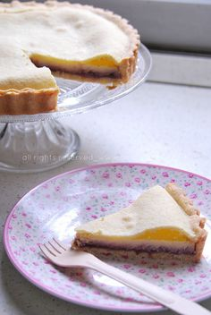 torta lamponi e ricotta by Amaradolcezza, via Flickr