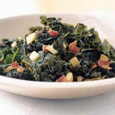 Braised Kale with Bacon and Cider | MyRecipes.com