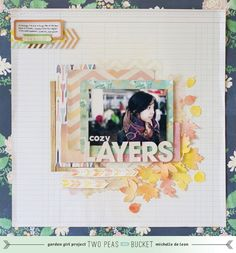 Cozy Layers | Autumn layout by Michelle De Leon