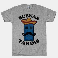 Buenas Tardis | HUMAN | T-Shirts, Tanks, Sweatshirts and Hoodies