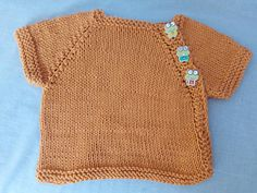 Newborn baby short sleeve cotton knitted sweater top baby shower new baby gift Awesome Gifts, Baby Hacks, New Baby Gifts, Baby Care, Attic, Baby Toys, Baby Shower Gifts, New Baby Products, Etsy Seller