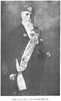 Bishop Charles W. Leadbeater - a Freemason; a prolific author and…