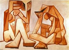 Two women on the beach - Pablo Picasso