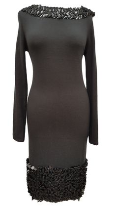 Looking for something amazing? Come and check out the gorgeous Phase Eight Carna... on our website right now! http://www.carobethany.co.uk/products/phase-eight-carnaby-sequin-black-knit-jumper-dress-size-10-worn-once?utm_campaign=social_autopilot&utm_source=pin&utm_medium=pin