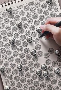 Cambodian artist Visoth Kakvei takes doodling to another level. Incredible
