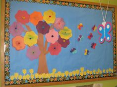 Spring Flowers in preschool