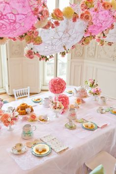 Pin for Later: This Tea Party Birthday Is the Sweetest Theme We've Ever Seen!