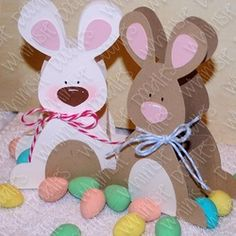 Free bunny basket template, plus other free digis.