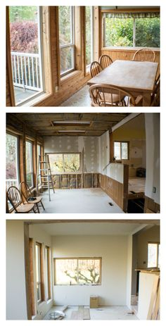 House Remodel Update! We officially have drywall and paint. Come check out the before and after pics!