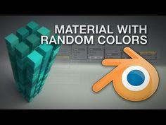 Blender: Random Colors (2.7x) - YouTube