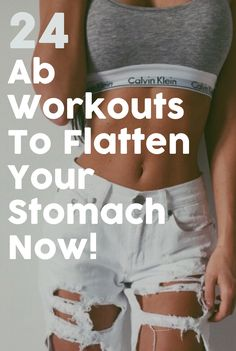 24 Insane Ab Workouts That Will Give You A Flatter Belly In No Time!
