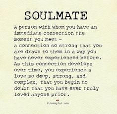 quotes of being reunited with your love and soul mate - Yahoo Image Search Results