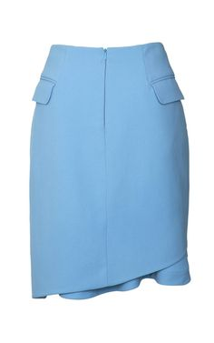 Crepe Viscose Taylor Skirt by Preen by Thornton Bregazzi for Preorder on Moda Operandi