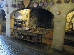 Château de Brissac June 20 Part II Castle decor Castles interior Victorian kitchen