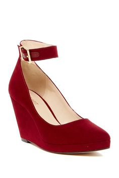 Image of Nine West Lucy Lou Wedge Pump