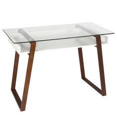 8 great glass top desk images home office den ideas glass office rh pinterest com