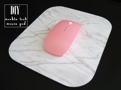 DIY – Marble Look Mouse Pad. Updated 19th December 2015. I'm in the holiday spirit mode – The Marble Printable is now available for FREE! Download it below. For personal use only …