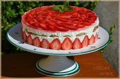 Jahodový dort ala tiramisu - Powered by @ultimaterecipe