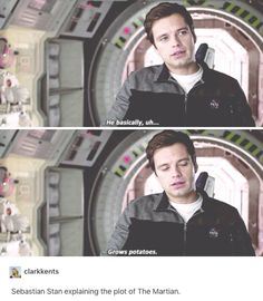 An in depth analysis of the Martian by Seb Stan