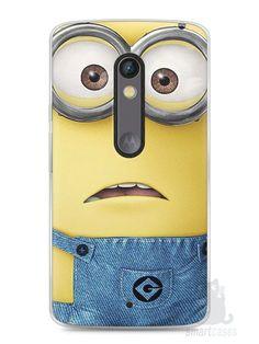 Capa Capinha Moto X Play Minions #6 - SmartCases - Acessórios para celulares e tablets :)