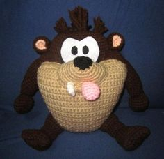 Baby Taz Looney Tunes project on Craftsy.com
