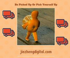 Be Picked Up Or Pick Yourself Up via @sablebiz