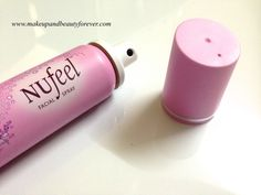 Nufeel Facial Spray for Women Review | http://www.makeupandbeautyforever.com/nufeel-facial-spray-for-women-review/