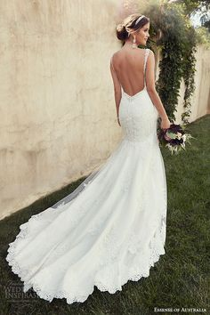 essense of australia wedding dress 2015 bridal jeweled strap sweetheart neckline fit flare gown d1865