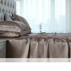 22 silk sheets/ Mulberry silk sheets/Wide without stitching silk sheets-H 230x230cm(91x91inch) Looking for bedroom remodel inspiration... - http://aluxurybed.com/product/22-silk-sheets-mulberry-silk-sheetswide-without-stitching-silk-sheets-h-230x230cm91x91inch/
