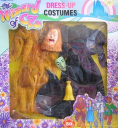 """Amazon.com: Wizard of Oz Dress Up Costumes Fits Barbie & 11.5"""" Fashion Dolls - Complete SET of 6 Costumes (3 Boxes) 50th Anniversary (1988 Multi-Toys): Toys & Games"""