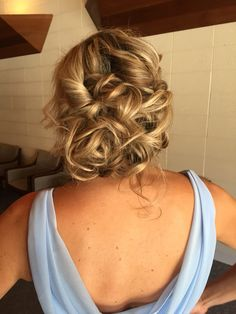 gorgeous loose updo
