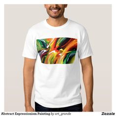 Abstract Expressionism Painting T-shirt