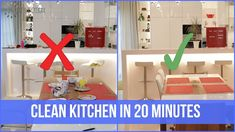 Clean with me - KITCHEN cleaning motivation | OrgaNatic
