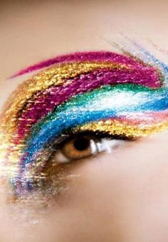 rainbow eye | fantasy #colors