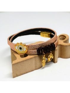 Βραχιόλι δερμάτινο boho Belt, Bracelets, Leather, Accessories, Jewelry, Belts, Jewlery, Jewerly, Schmuck