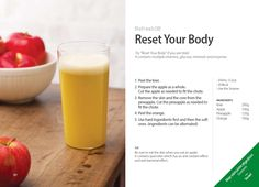 #Kuvings #Refresh #Juice #Recipe - Reset Your Body with Whole Slow #Juicer #CS600