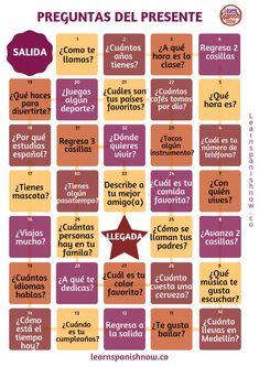 To Learn Spanish English Key: 6975982773 Spanish Basics, Spanish Grammar, Spanish Vocabulary, Spanish English, Spanish Language Learning, Vocabulary Games, Spanish Classroom Activities, Spanish Teaching Resources, Listening Activities