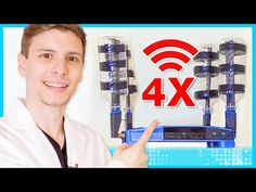 (490) Quadruple Your Wi-Fi Speed for Free - YouTube Wifi Antenna, Android Hacks, Geek Tech, Free Youtube, Cool Technology, Tech Gadgets, Wi Fi, Confirmation, Frugal