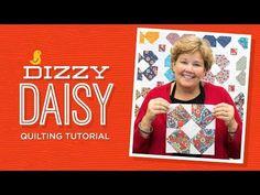 MSQC Tutorial - Dizzy Daisy Quilt