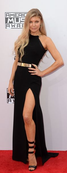Check out Fergie on the American Music Awards red carpet