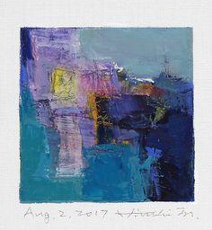 https://flic.kr/p/WKmZZY | aug022017 | Oil on canvas 9 cm x 9 cm © 2017 Hiroshi Matsumoto www.hiroshimatsumoto.com