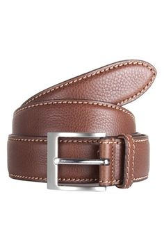 Men's Trafalgar 'Brandon' Leather Belt